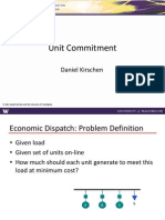 Power System Unit Commitment