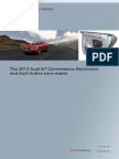 2012 A7 Convenience System and Active Lane Change Assist