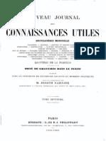 Nouveau Journal Des Connaissances Utiles 1859-60