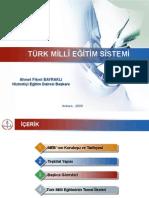 Turk Milli Egitim Sistemi