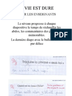 diaporama enseignants