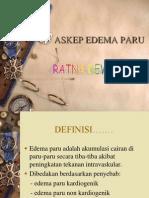 Askep Edema Paru