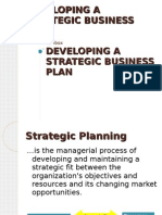 15591861 Developing a Strategic Business Plan