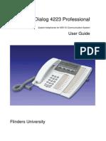 User Guide Dialog 4223