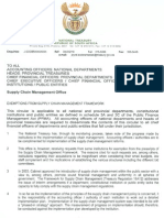 Legislative Acts - PFMA - Exemptions From Supply Chain Management Framework