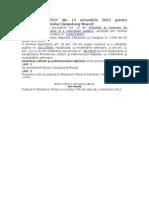 Ordinul Nr 2537-2012 Acreditare Muzeu Campulung Muscel