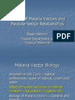 Malaria VectorBiology