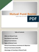 Mutual Fund Basics,