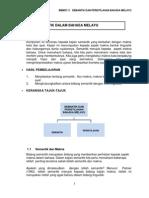 Modul Semantik Dan Peristilhan Bahasa Melayu Psgr Bmm3111