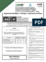S22-P - Engenharia Geológica - Geologia - Engenharia de Minas