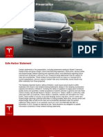 Tesla Motors January 2014 Investor Presentation