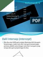 Intercept Theory