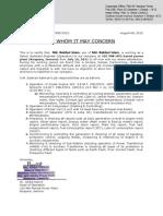 Work experience certificate format of experience certificate altavistaventures Choice Image