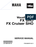 Yamaha SHO Service Manual | Internal Combustion Engine