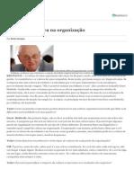 O papel da cultura na organização - Geert Hofsted - VALOR