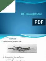 RC QuadRotor Basics