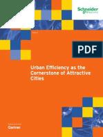 Urban Efficiency as the Cornerstone of Atttractive Cities