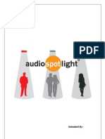 Audio Spot Lighting