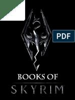 Books of Skyrim - Bethesda Softworks