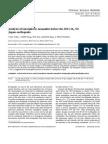 Analysis of Ionospheric Anomalies Before