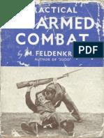 Feldenkrais Practical Unarmed Combat