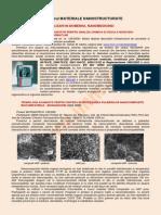 materiale nanostructurate