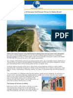 A Guide To The Range Of Houses And House Prices In Bahia Brazil