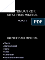 3 Sifat Fisik Mineral