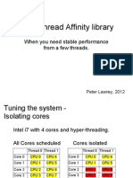 Java Thread Affinity library