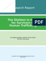 The Shelters in Israel for Survivors of Human Trafficking