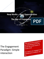 The Age of Engagement - New Media