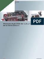 616 - Motores Audi TFSI de 1,2l y 1,4l de La Serie EA211