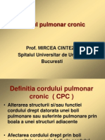 Cordul pulmonar cronic (1)