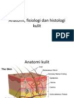 Anatomi, Fisiologi Dan Histologi Kulit