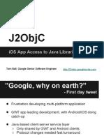 iOS Developers- J2ObjC