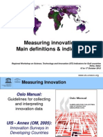 Measuring Innovation_main Definitions (Part I)