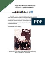 KWU - NUCLEBRÁS - TRANSFERÊNCIA DE TECNOLOGIA DESENVOLVIMENTO E PROJEÇÃO DE PODER