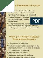 Elaboracion y diseños de Proyectos