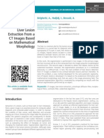 A Semi-automated Method for the Liver Lesion Extraction From a CT Images Based on Mathematical Morphology