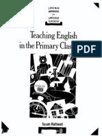 Susan Halliwell Teaching English in the Primary Classroom (Longman Handbooks for Language Teachers) 1992