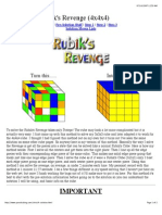 Rubik4x4x4Solution