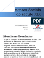 Pensamentos Sociais e as Internacionais