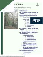 Manual de Selvicultura Del Castac3b1o en Galicia