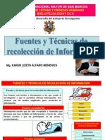 FUENTES Y TECNICAS DE RECOLECCIÓN DE LA INFORMACIÓN_2