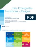 Tendencias y Riesgos en Países Emergentes_ParteI_Mondragon_Enero2014