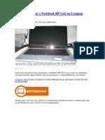 Como Desmontar o Notebook HP G42 Ou Compaq Presario