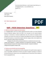 SAP FICO Interview Q&A