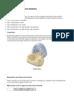 Classification of Dental Models and Bite Adjustment1