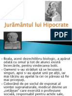 Juramantul lui Hipocrate ,deontologie ,cod medicina