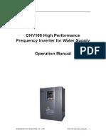 CHV 160 English Manual_V1.0